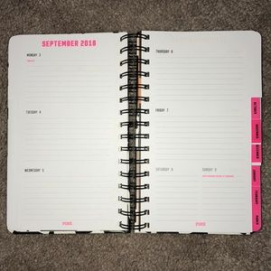 PINK Victoria's Secret Office - PINK Planner